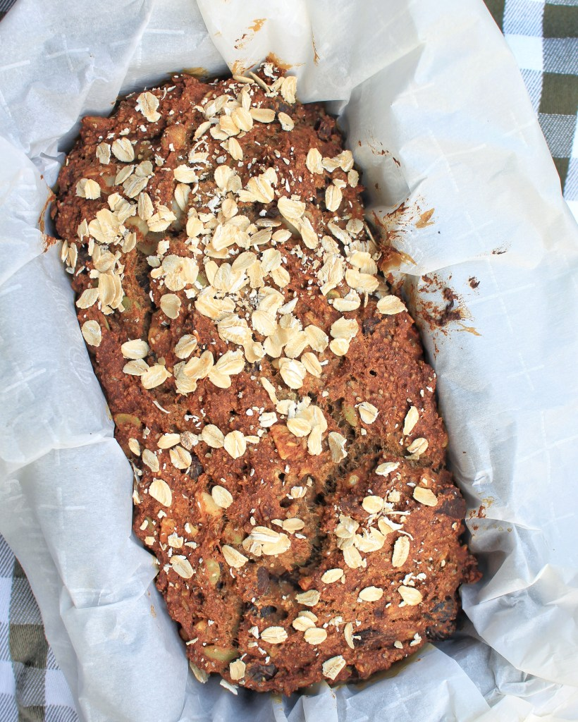 Nutty Banana Bread Gluten Free with PlantFusion
