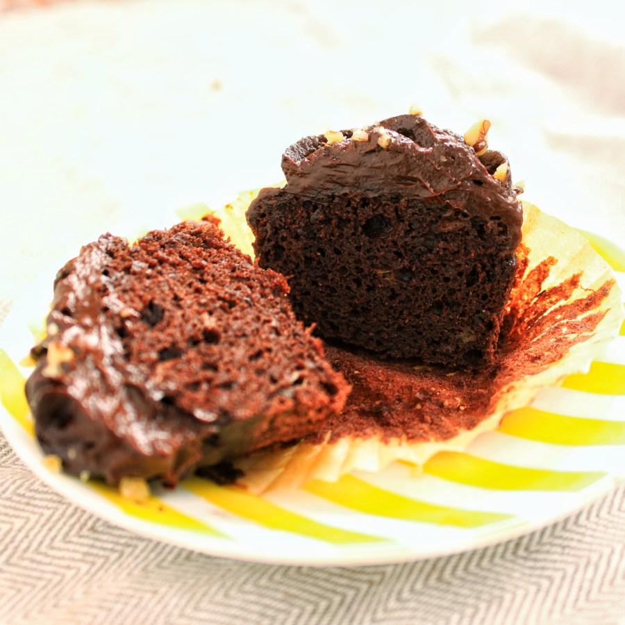 Mocha Chocolata Cupcakes(Vegan, Gluten Free) - Plant Fusion