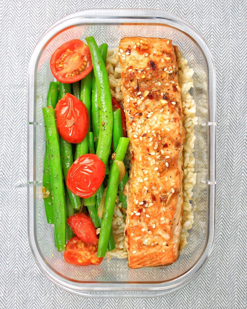 meal-prep-sesame-glazed-salmon-string-beans-my-body-my-kitchen