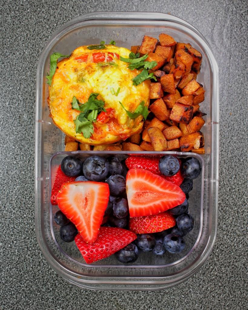 Chicken Fajita Egg Muffins Breakfast Meal - My Body My Kitchen