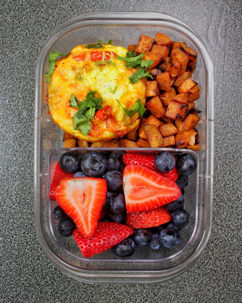 Chicken Fajita Egg Muffins Breakfast Meal - My Body My Kitchen