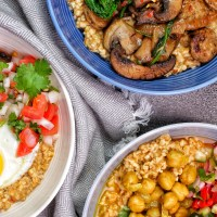 Savory Oats Three Ways - My Body My Kitchen