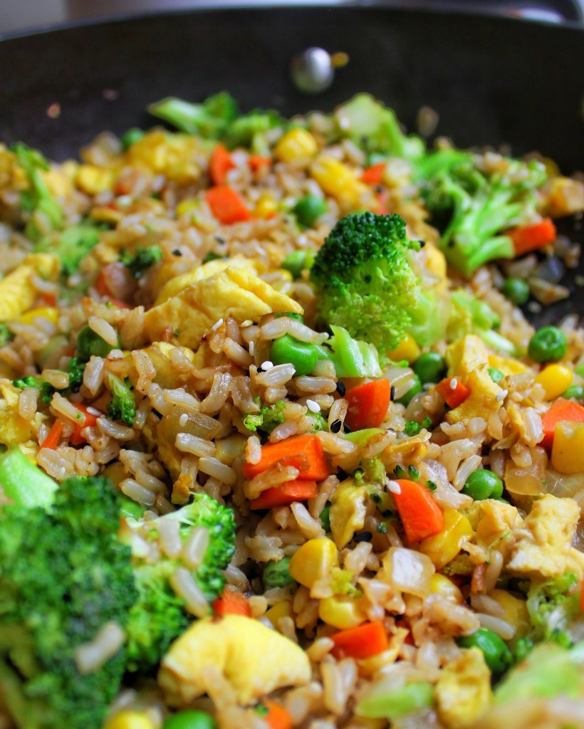 Vegetable Fried Rice Vegetarian My Body My Kitchen