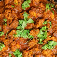Easy-Spicy-Chicken-Vindaloo-Brown-Rice-Cilantro-My-Body-My-Kitchen-Farmer-Focus