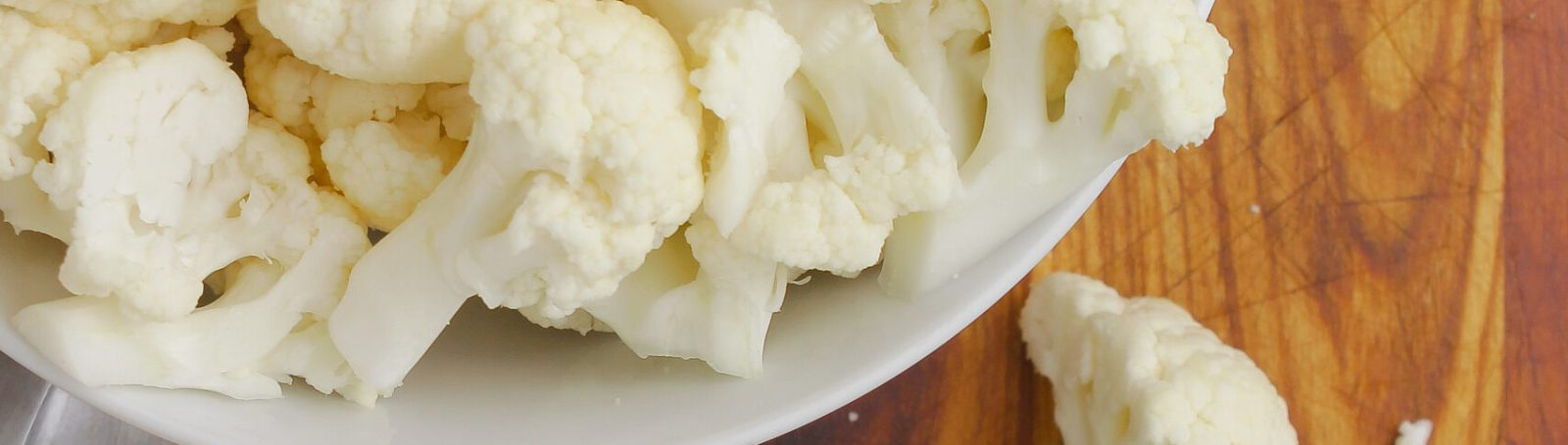 How to Make Cauliflower Florets