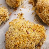 Spicy Baked Breaded Chicken