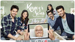 Kapoor & Son's (Since 1921) – Movie Review