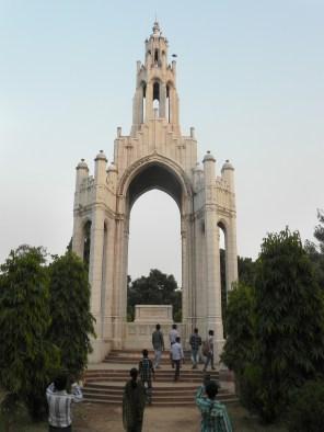 Queen_Victoria's_Memorial_in_Alfred_park,Allahabad,_U.P.,_India..