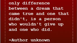 Do your dreams come true?