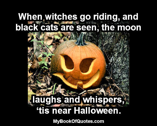When witches go riding - quote