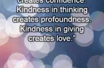Kindness Sayings