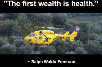 """The first wealth is health."" ~ Ralph Waldo Emerson"