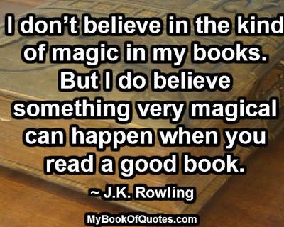 Magic in my books