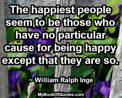 The happiest people