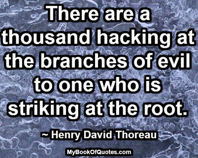 The branches of evil