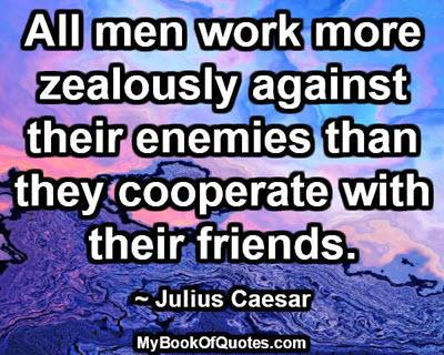 Against their enemies