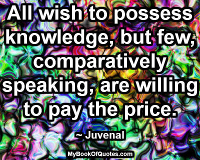 All wish to possess knowledge