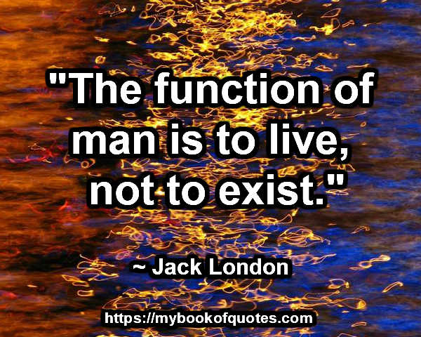 the function of man