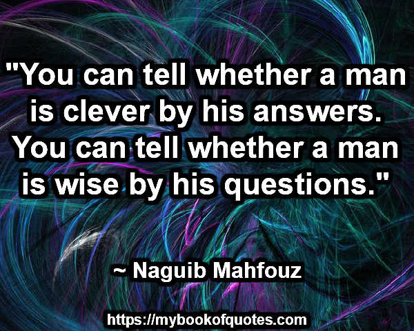 whether a man is wise