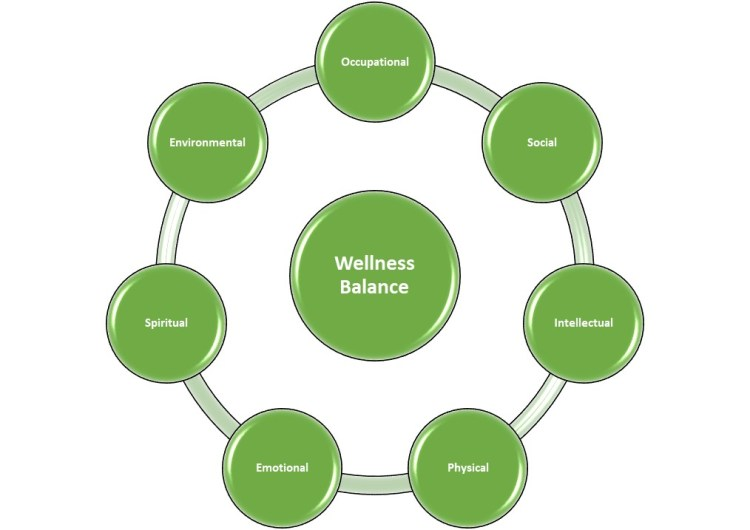 Dimensions Of Wellness Model By W Hettler 1976 And Horton Snyder Wellness Its Impact On Student Grades And Implications For Business 2009