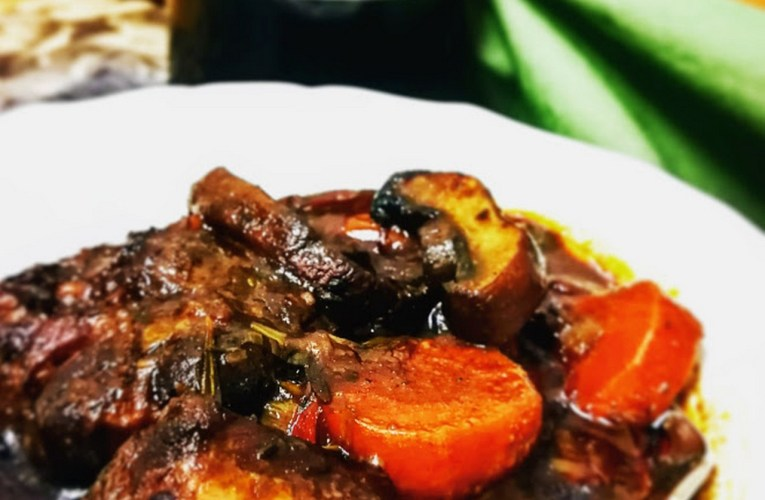 Slow Braised Pinotage, Muscadel & Secret Ingredient Oxtail