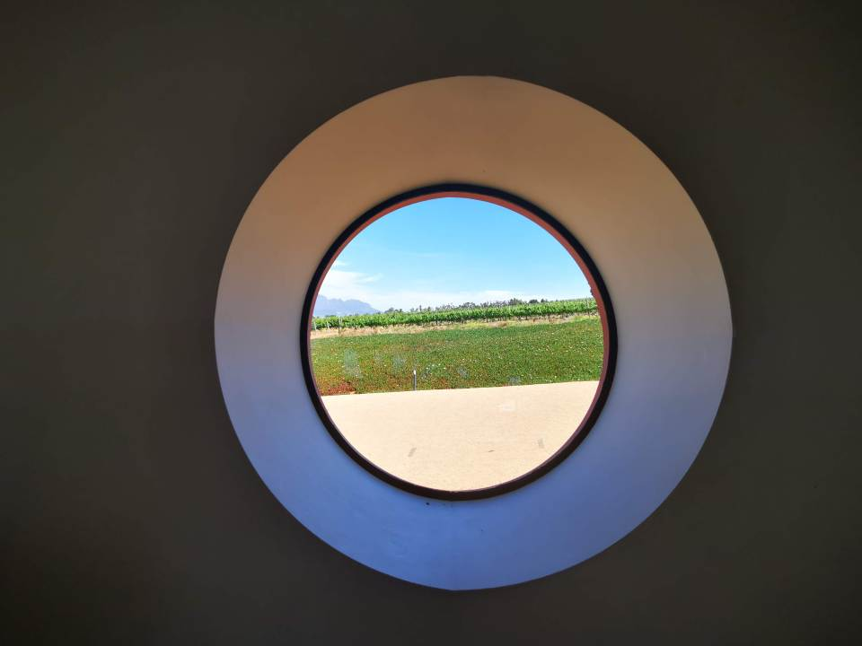 the windows at louisvale makes you think of a fish eye