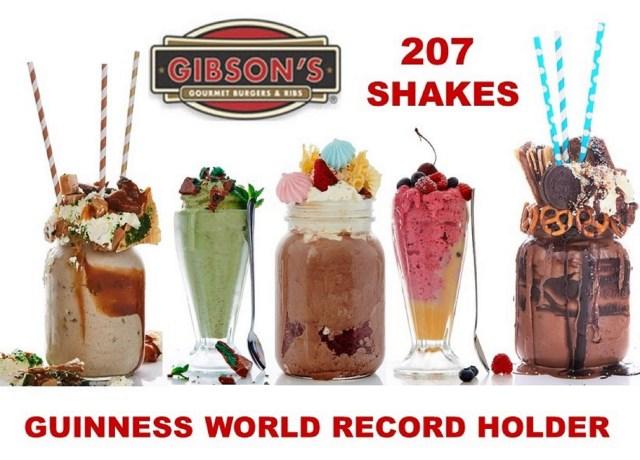 FOOD NEWS: Gibson's Gourmet Burgers & Ribs Set A Guinness World Record