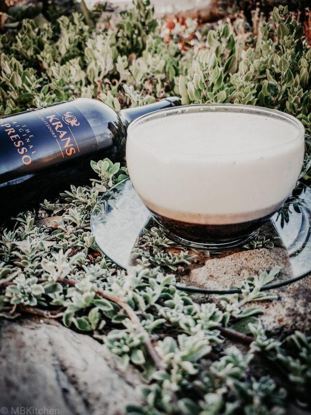 NEW RECIPE ALERT! A De Krans White Russian Espresso Panna Cotta
