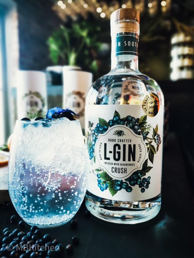 L-Gin Blueberry Infused Gin