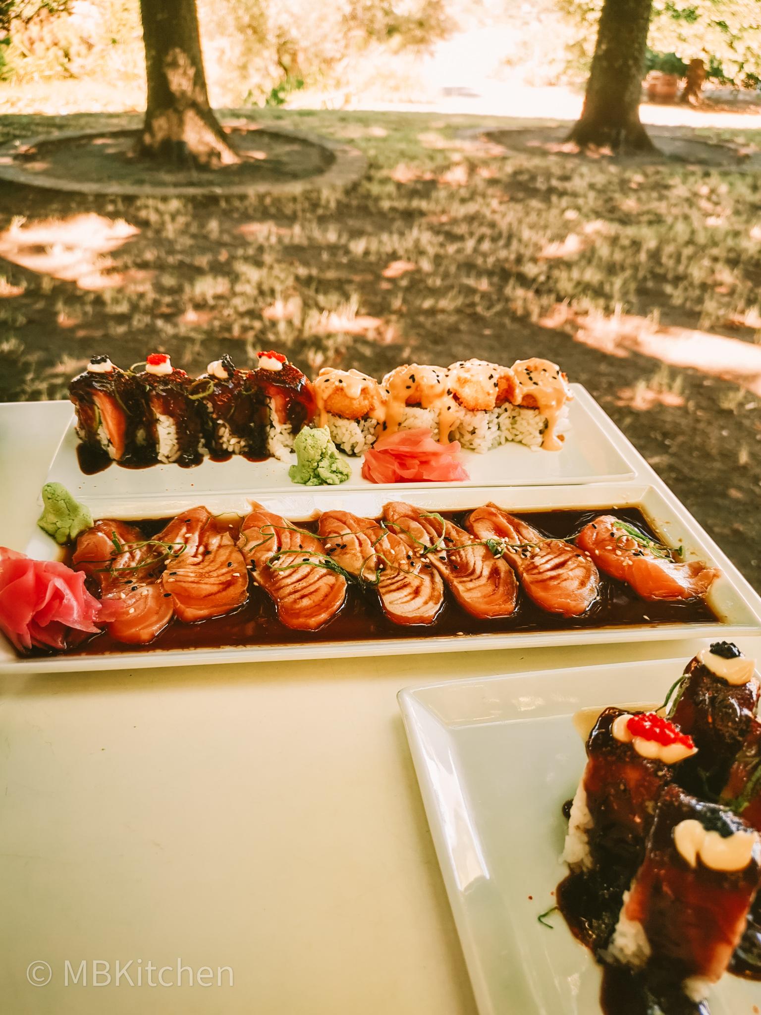 selection of glenwood gourmet sushi