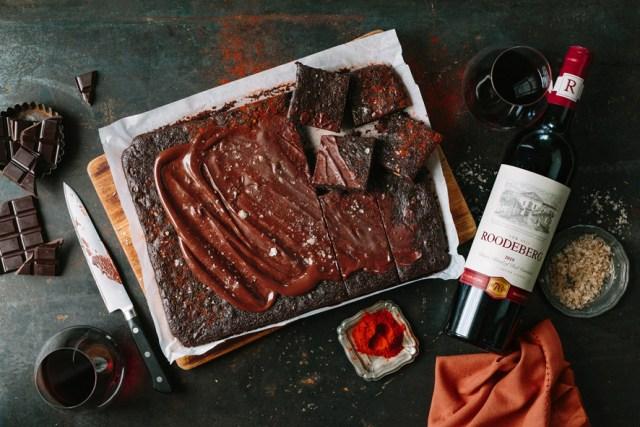 Winter Indulgence with Roodeberg & Smoked Paprika Chocolate Brownies