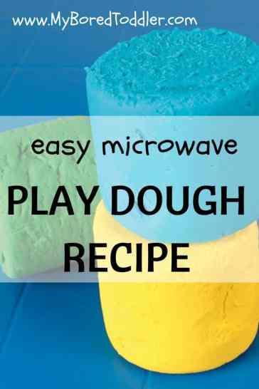 playdough recipe microwave