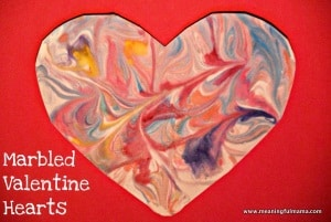 Valentine's Day craft toddler
