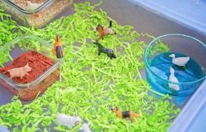 spring toddler activities farm