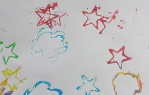 toddler painting ideas playdough