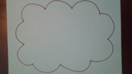 rain clouds toddler activity