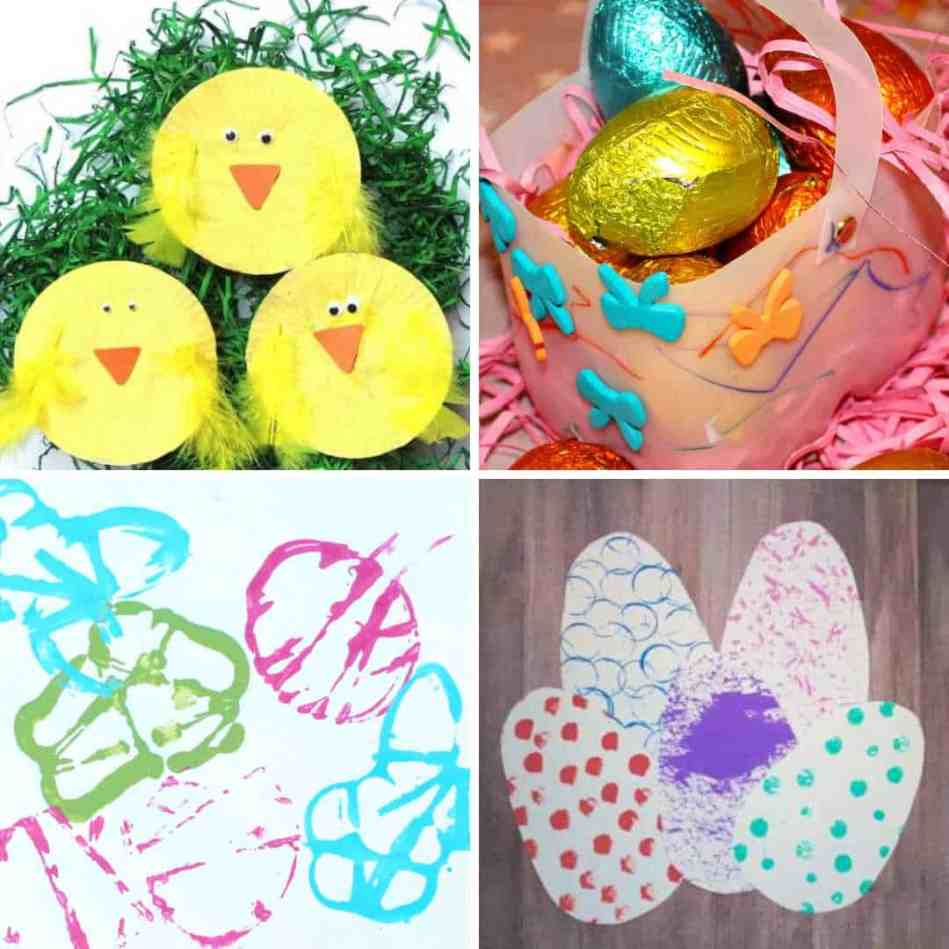 Easter Ideas for toddlers - easy crafts and activities for 1,2 and 3 year olds for Easter 1