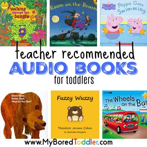 Best books for toddlers - Audio Books - My Bored Toddler