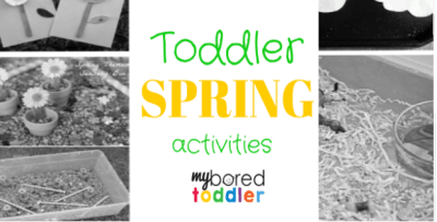 spring activities for toddlers