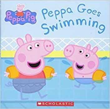 peppa pig goes swimming audio book