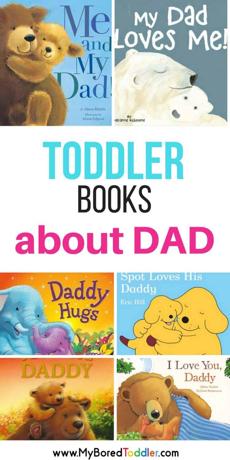 best toddler books about dad