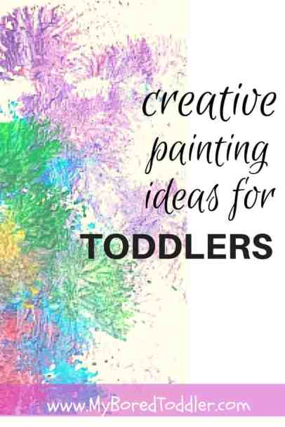 toddler painting ideas