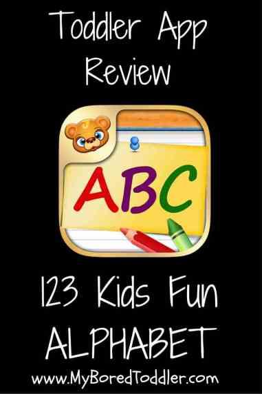 123 kids fun alphabet review pinterest
