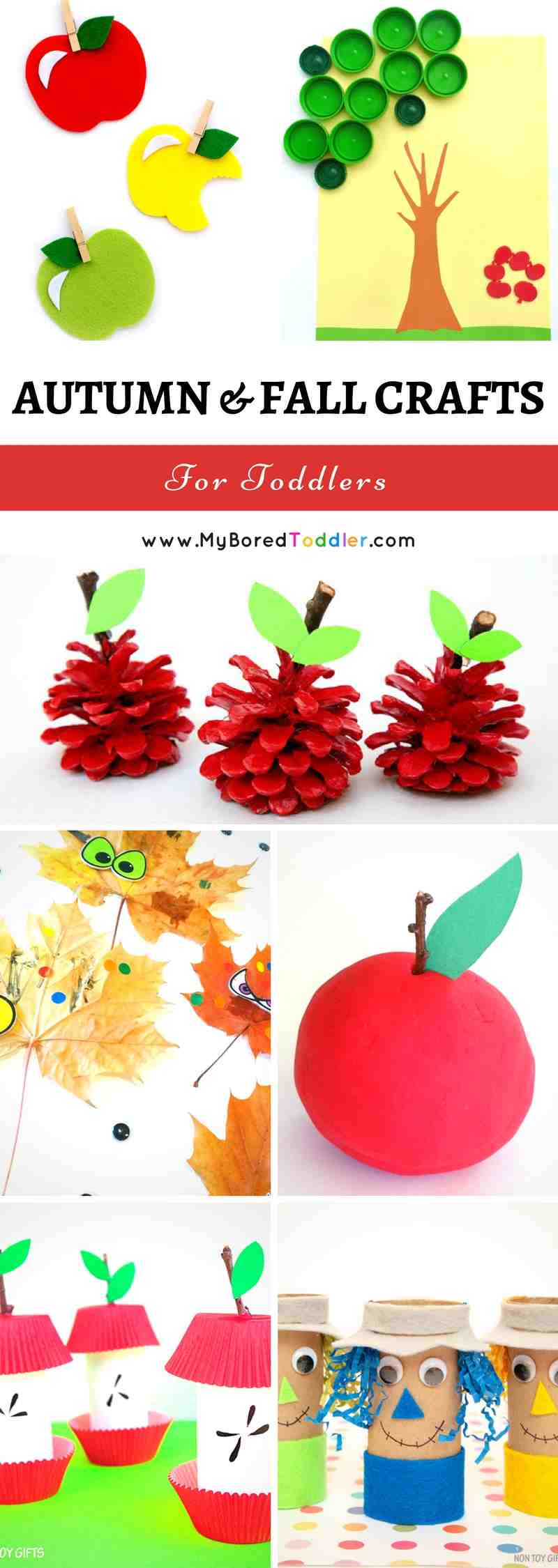 Fall Crafts For Toddlers Fun Autumn And Fall Themed Crafts