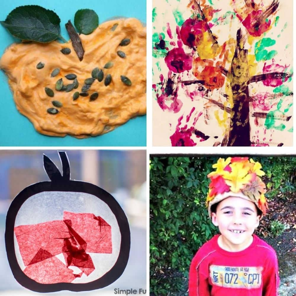 easy fall crafts for toddlers and preschoolers 1