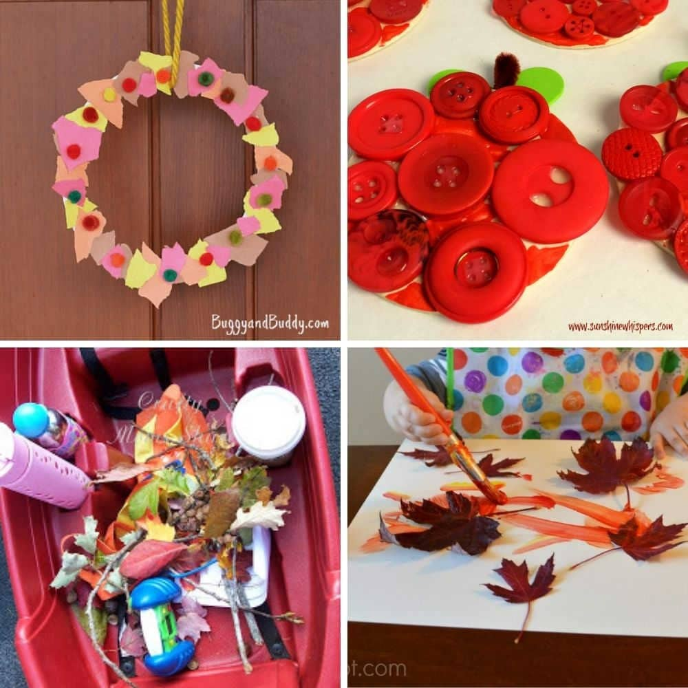 fall craft ideas for toddlers 1 year old 2 year old 3 year old