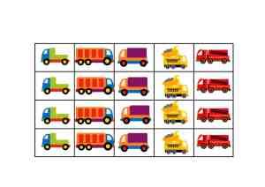 truck printable reward chart 2