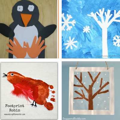 winter crafts and activities for toddlers 1