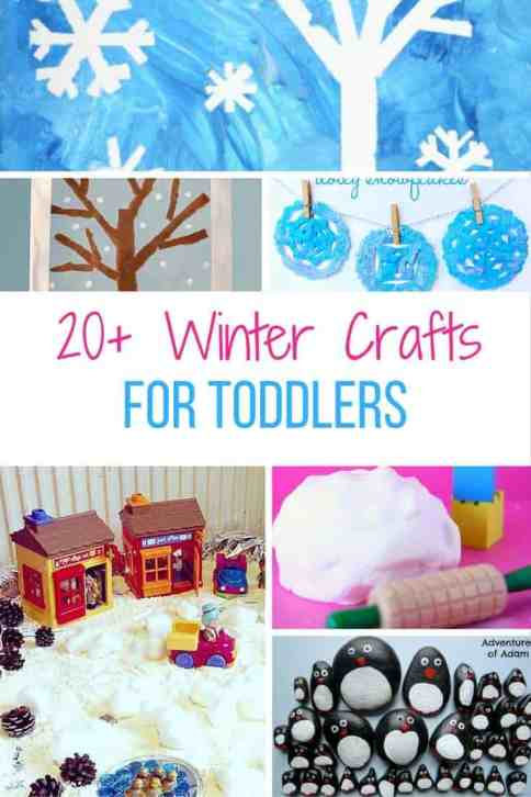 winter crafts and activities for toddlers pinterest