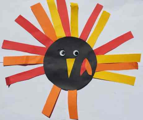 thanksgiving craft for toddlers turkey
